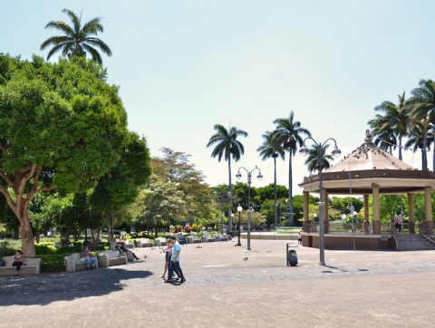 Heredia Costa Rica Central Park