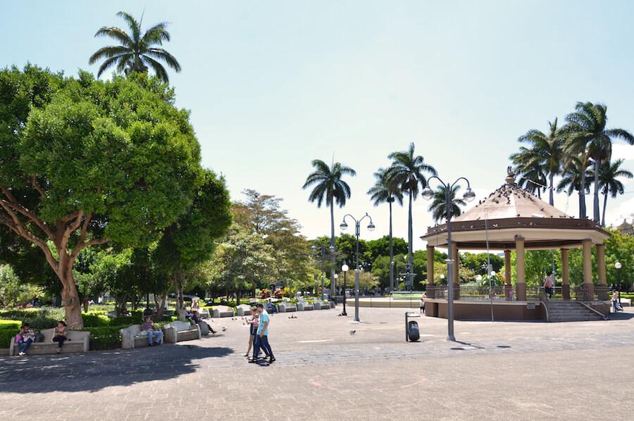 Heredia Costa Rica Central Park