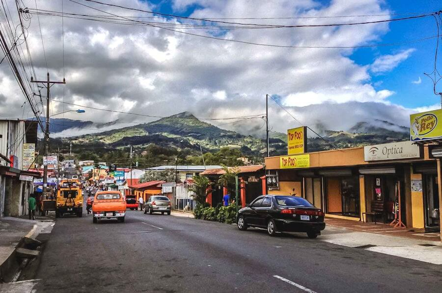 Downtown Streets of Heredia Costa Rica
