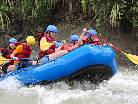 White Water Rafting with Tico Lingo Spanish School