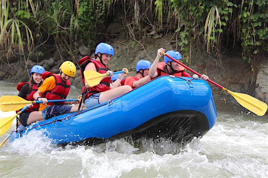 White Water Rafting with Tico Lingo Spanish School
