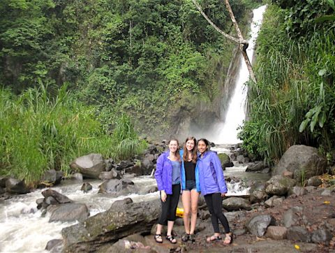 Natural Waterfalls Outside of Heredia