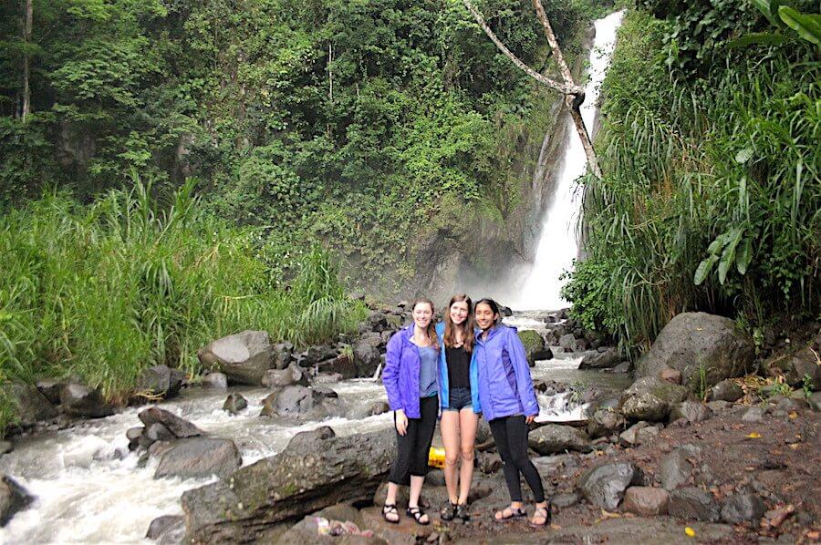 Natural Waterfalls Outside of Heredia