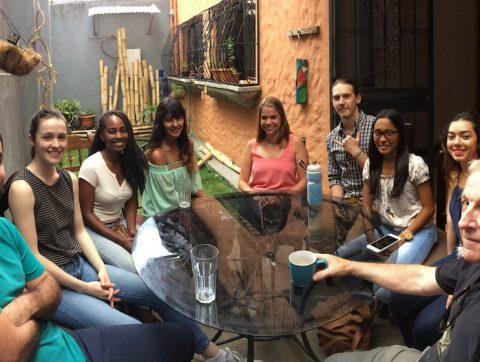 convesation class at tico lingo spanish school