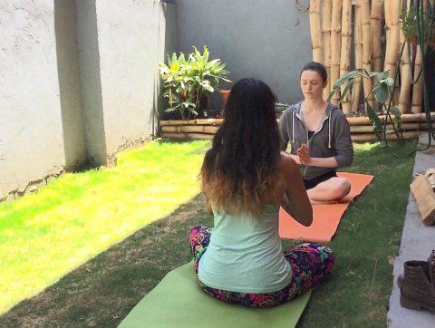 yoga class at tico lingo