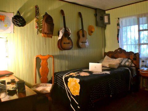 Homestay Bedroom in Costa Rica