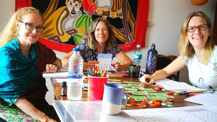 Adult Spanish Immersion Program in Costa Rica - Students Studying Spanish