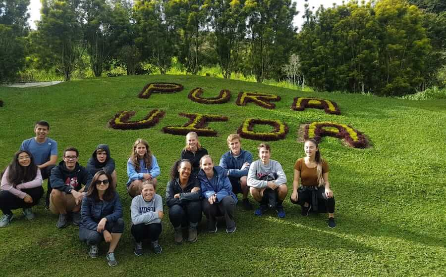 Teen Spanish Camp weekend adventure