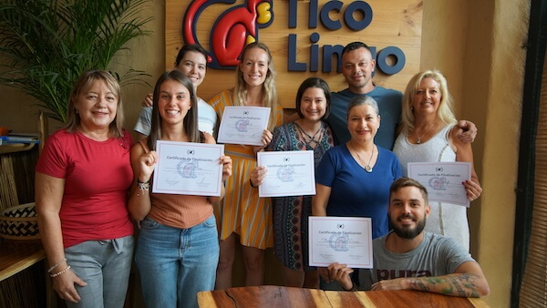Student graduated from a Spanish immersion program in Costa Rica