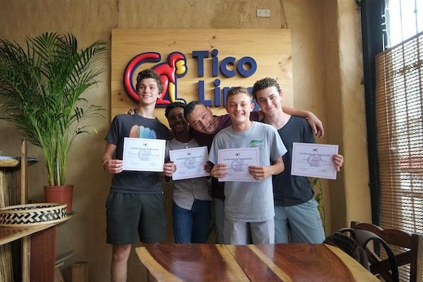 Graduation_Teen Spanish Summer Camp in Costa Rica