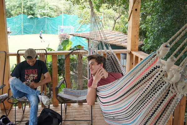 Hammock Hangout_Teen Spanish Summer Camp in Costa Rica