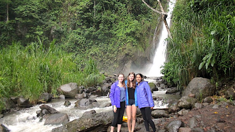 Heredia Naure Waterfall